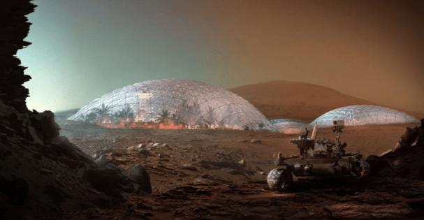 Veja o plano incrível de uma cidade em Marte sob uma cúpula