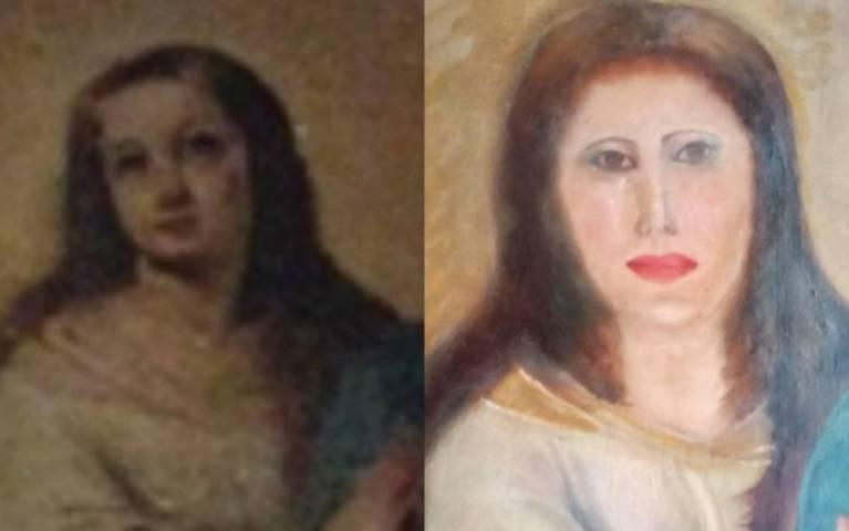 Outra obra de arte histórica da Espanha tem desastre na restauração
