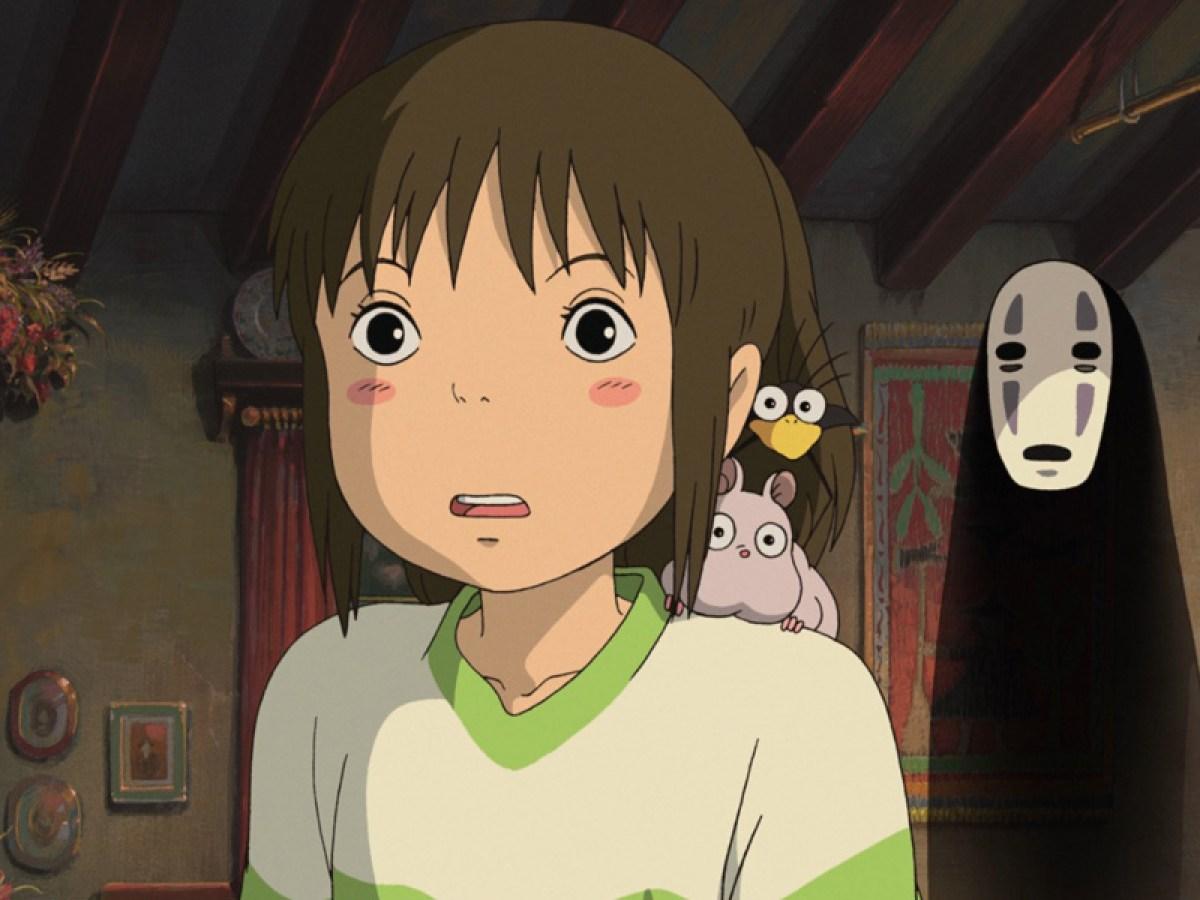 Imagem mostra Goku no estilo dos filmes do Estúdio Ghibli