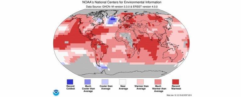 Existe um lugar na Terra que está ficando mais frio ao invés de mais quente e estudo explica o motivo