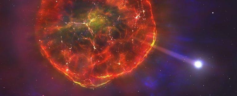 Estrela de 900 mil km/h é lançada por um tipo de explosão de supernova nunca antes visto
