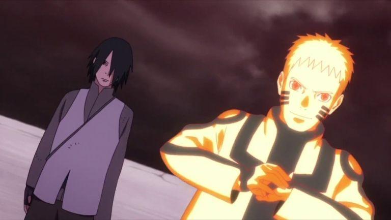 Sasuke e Naruto se unem para mais uma difícil batalha em Boruto