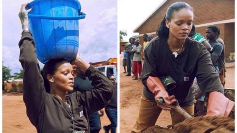 Conheça o lado humanitário de Rihanna que poucas pessoas conhecem