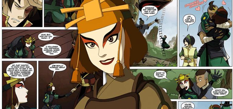 O que aconteceu com Suki após o fim de Avatar: A Lenda de Aang?