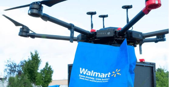 Walmart começou a entregar compras com drone