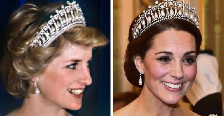 Onde estão as joias usadas pela Princesa Diana?