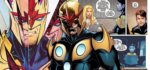 Nova HQ da Marvel mostra que até super-heróis precisam de terapia