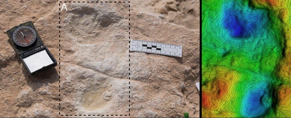 Pegadas humanas de 120 mil anos foram descobertas na Arábia Saudita