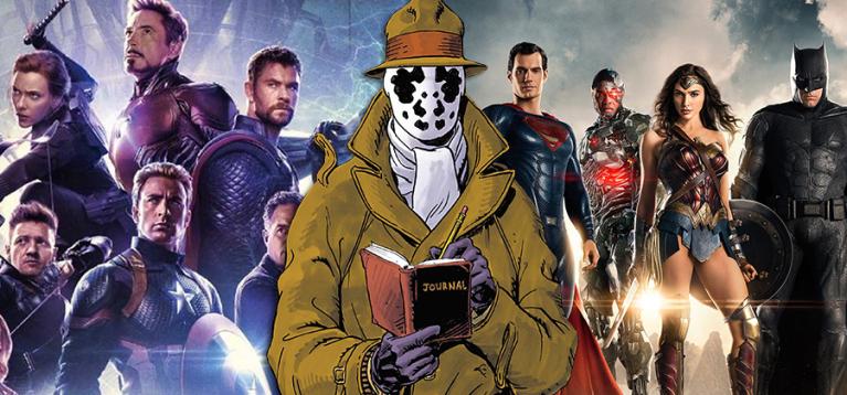 Criador de Watchmen alerta sobre o perigo dos filmes de super-heróis