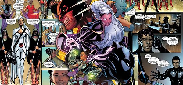 Como os X-Men podem iniciar uma guerra civil em Wakanda