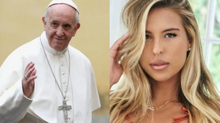 Conta do Papa no Instagram curte foto de modelo brasileira e o Vaticano fará investigação