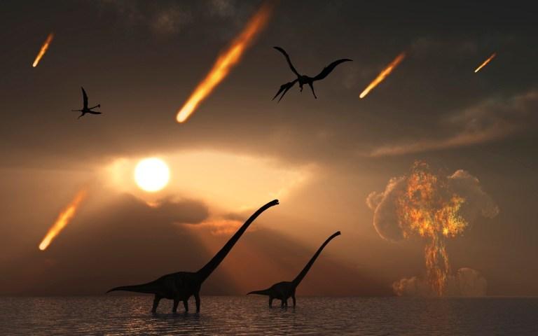 Dinossauros já estavam morrendo antes do asteroide chegar?