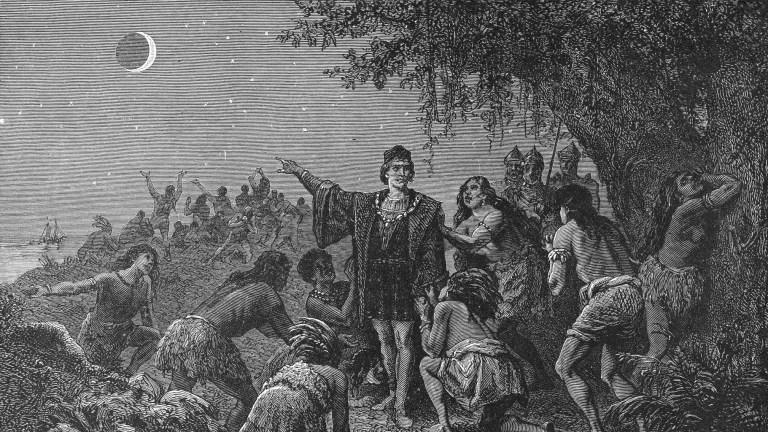 Como um eclipse salvou a vida de Cristóvão Colombo?