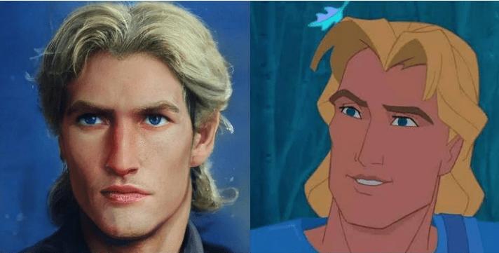 Artista mostra como seriam 20 personagens da Disney na vida real