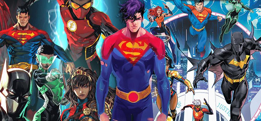 DC revela como será a nova Liga da Justiça nos quadrinhos
