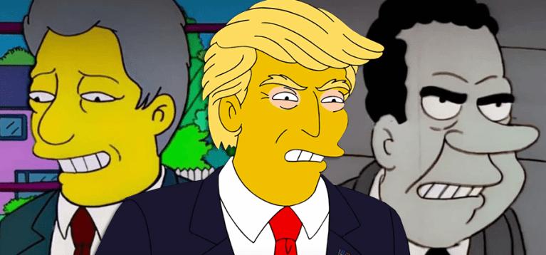 Cada presidente americano que já apareceu em Os Simpsons, até agora