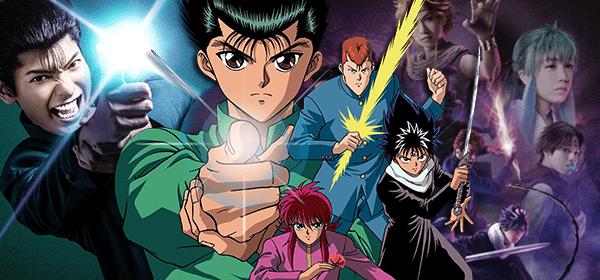 Personagens de Yu Yu Hakusho recebem versões live-action