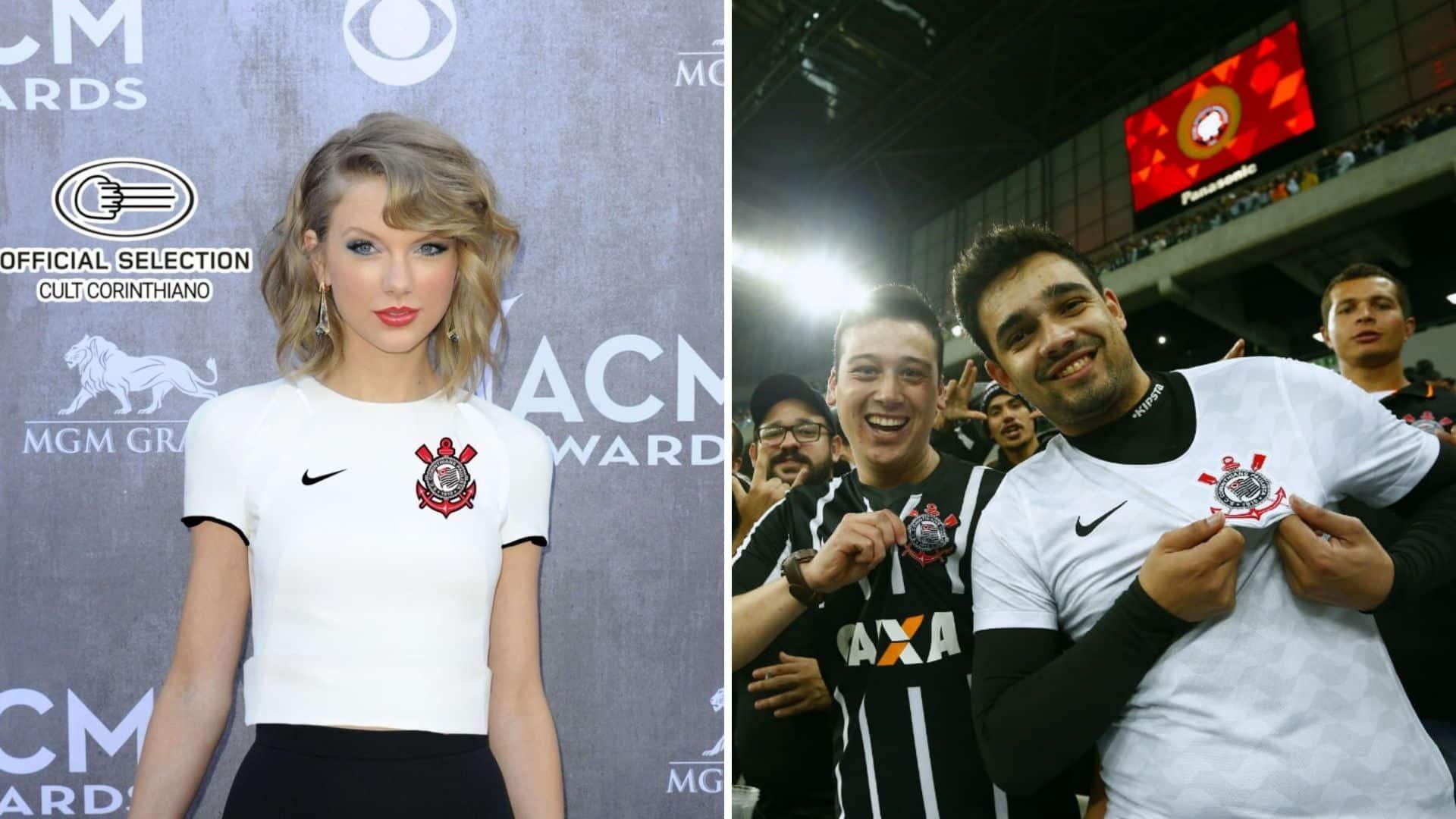 Por que a torcida do Corinthians está tão feliz que a Taylor Swift lançará novo álbum?