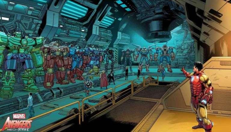 Vingadores ganham robôs gigantescos em nova aposta da Marvel
