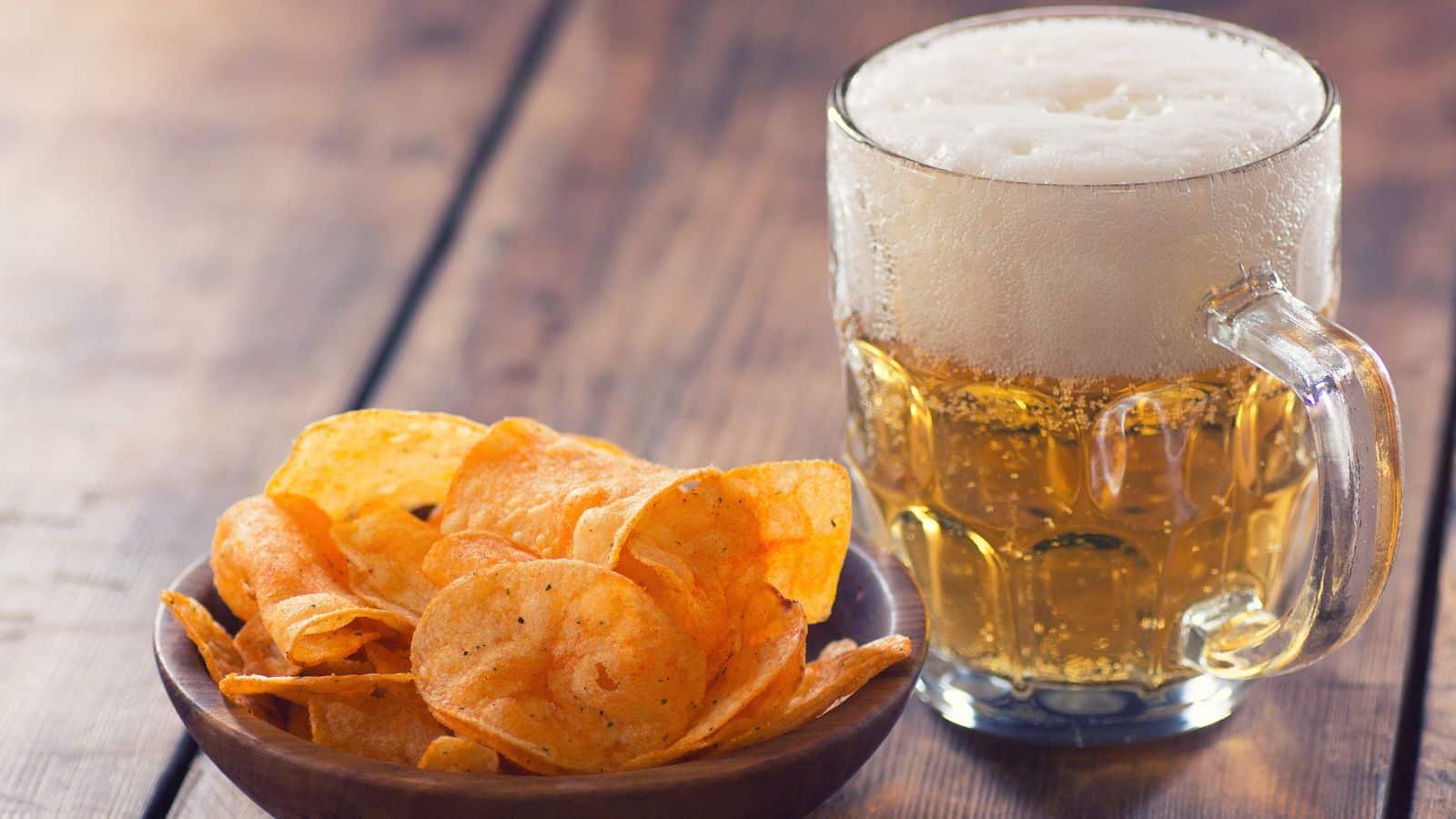 Cerveja e batatas fritas podem ser as armas ideais contra as mudanças climáticas