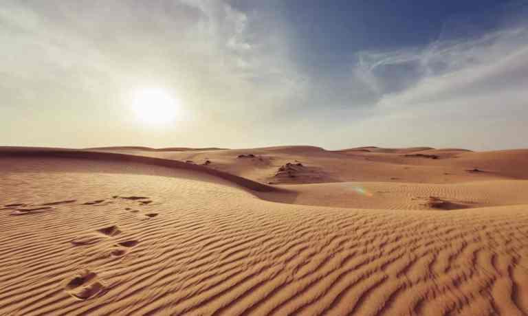 Esses são os maiores desertos do mundo
