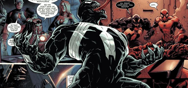 Venom sugere que os Vingadores não podem confiar no Homem-Aranha