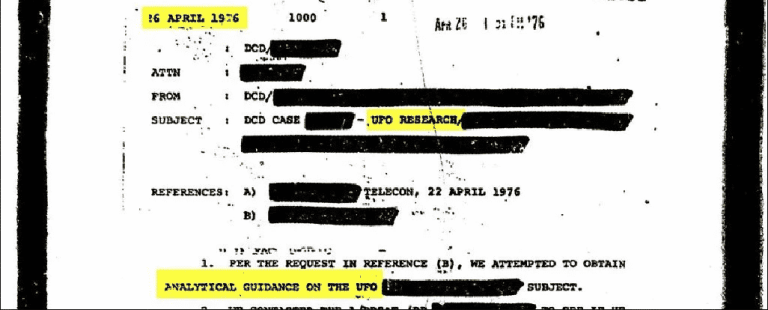 Todos os documentos que a CIA têm sobre OVNIs estão disponíveis para download