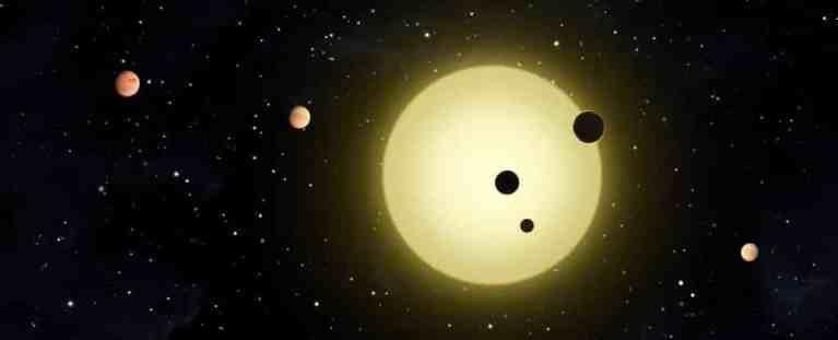 Astrônomos encontraram um sistema de seis planetas em uma harmonia orbital quase perfeita