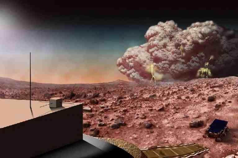 Cientistas acreditam que tempestades de poeira em Marte podem gerar energia