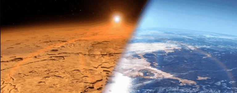 Cientistas dizem que os oceanos de Marte podem estar presos no planeta