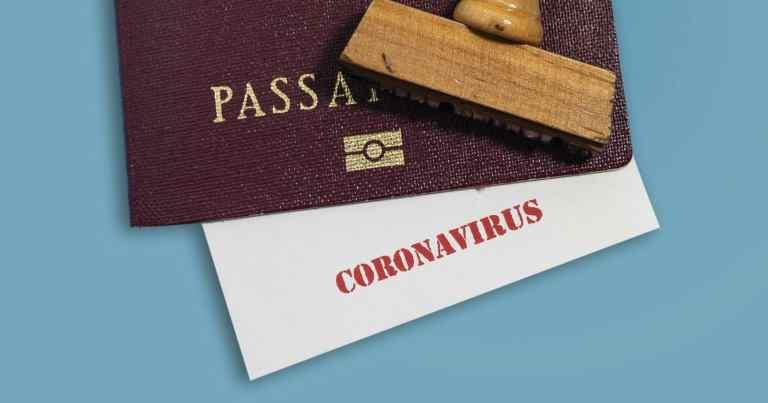 """Companhias aéreas começam teste de app para """"passaporte de imunidade"""""""