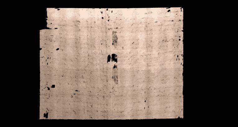 Carta da era renascentista selada por séculos é virtualmente desdobrada e lida pela primeira vez