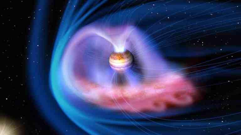 O nascimento das misteriosas auroras de Júpiter foi observado pela primeira vez