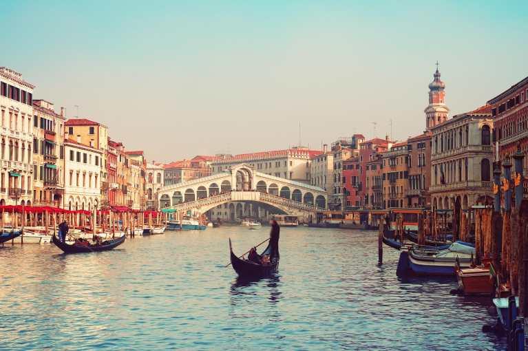"""Veneza, a """"Cidade dos Canais"""", completa 1.600 anos"""
