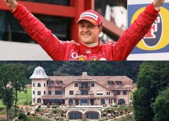 Como é a mansão de R$ 400 milhões de Michael Schumacher?