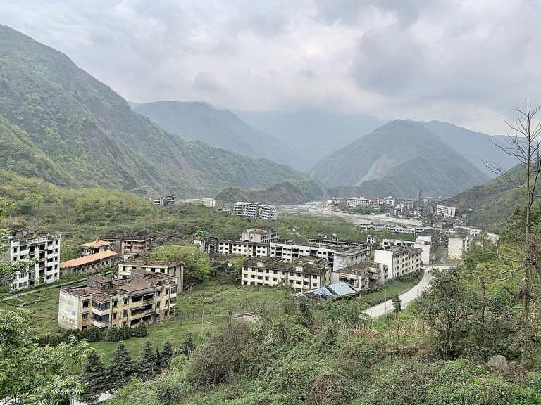 Beichuan Qiang, uma das cidades mais assustadoras do mundo