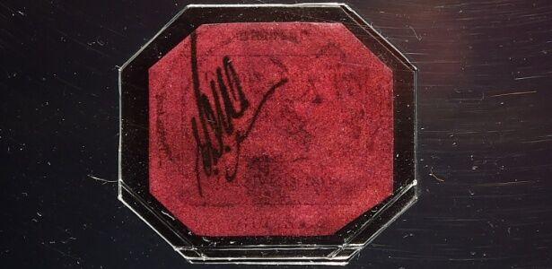 Esse selo de 1856 é o objeto mais valioso do mundo e está à venda por 80 milhões de reais