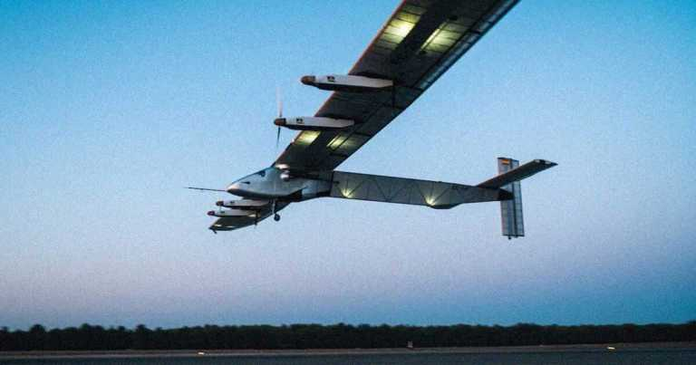 Marinha dos EUA está desenvolvendo um avião movido a energia solar