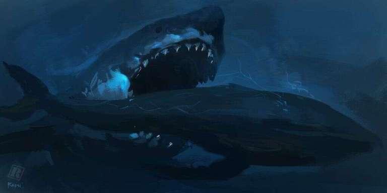 Ataque de megalodon há milhões de anos foi preservado em um dente antigo
