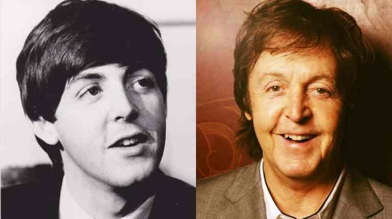 Antes e depois de 7 estrelas do rock