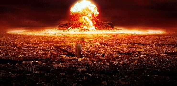 Esse é o efeito que uma guerra nuclear teria no ar da Terra