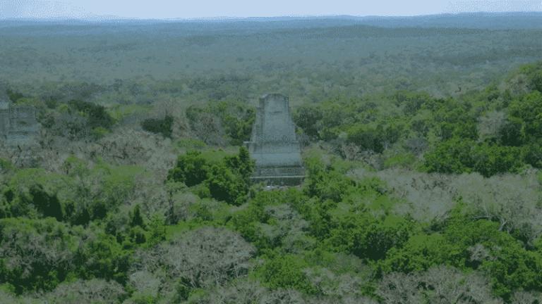 Cidade misteriosa e oculta é revelada na antiga cidade maia