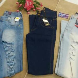 Calças jeans varios modelos