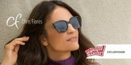 c4f4c2f4bd6a8 Óculos de Grau e de Sol Chris Flores em vários modelos   Fatos e Eventos