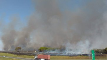 SBO registra aumento de focos de incêndio no fim de semana