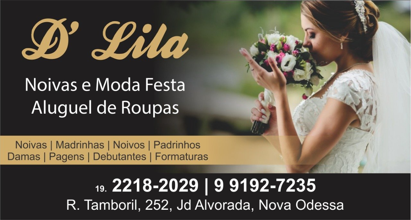 7eb649e37 D Lila - Aluguel de Roupas para Festas em Nova Odessa