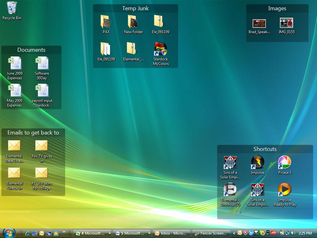 Resultado de imagem para organized desktop