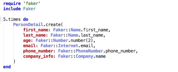 Get random data for your tests with Faker gem - Fatos Morina