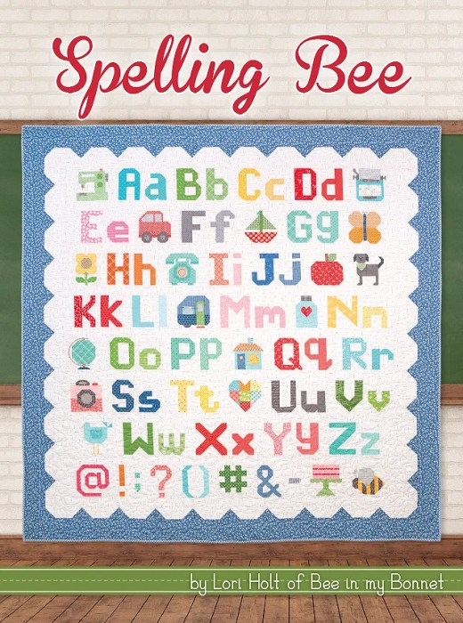 Spelling Bee Book | Lori Holt of Bee in my Bonnet for It's Sew Emma  #ISE-916 | Fat Quarter Shop