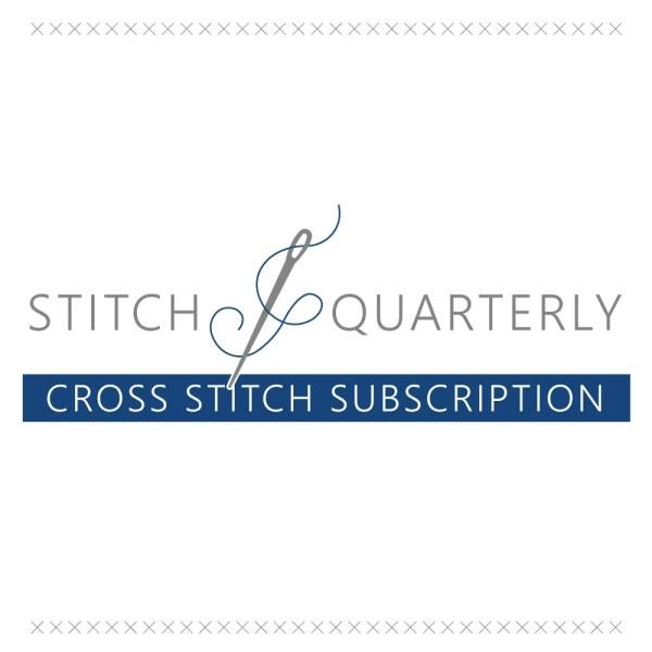 Stitch Quarterly Cross Stitch Subscription | Fat Quarter Shop Exclusive
